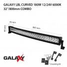 LED bar  Galaxy LBL извит 180W