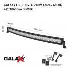 LED bar  Galaxy LBL извит 240W